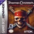 Pirates of the Caribbean: The Curse of the Black Pearl Game Boy Advance Front Cover