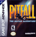 Pitfall: The Mayan Adventure Game Boy Advance Front Cover