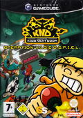 Codename: Kids Next Door - Operation: V.I.D.E.O.G.A.M.E. GameCube Front Cover