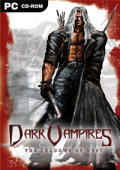 Dark Vampires: The Shadows of Dust Windows Front Cover