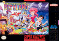 Cacoma Knight in Bizyland SNES Front Cover