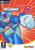 Mega Man X8 Windows Front Cover