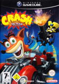 Crash Tag Team Racing GameCube Front Cover