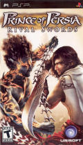 Prince of Persia: The Two Thrones PSP Front Cover