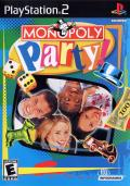 Monopoly Party PlayStation 2 Front Cover
