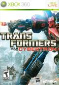 Transformers: War for Cybertron Xbox 360 Front Cover