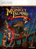 Monkey Island 2: LeChuck's Revenge - Special Edition Xbox 360 Front Cover