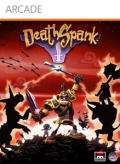 DeathSpank Xbox 360 Front Cover