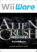Alien Crush Returns Wii Front Cover