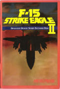 F-15 Strike Eagle II: Operation Desert Storm Scenario Disk DOS Front Cover
