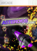 Asteroids & Deluxe Xbox 360 Front Cover