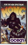Kong ZX Spectrum Front Cover