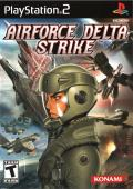AirForce Delta Strike PlayStation 2 Front Cover