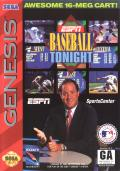 ESPN Baseball Tonight Genesis Front Cover
