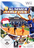 Summer Athletics 2009 Wii Front Cover