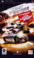 The Fast and the Furious PSP Front Cover