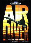 Air Diver Genesis Front Cover