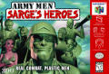 Army Men: Sarge's Heroes Nintendo 64 Front Cover