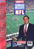 ESPN Sunday Night NFL Genesis Front Cover