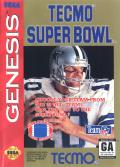 Tecmo Super Bowl Genesis Front Cover