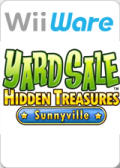 Yard Sale Hidden Treasures: Sunnyville Wii Front Cover