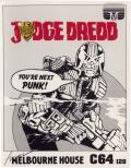 Judge Dredd Commodore 64 Front Cover