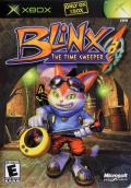 Blinx: The Time Sweeper Xbox Front Cover