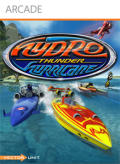 Hydro Thunder Hurricane Xbox 360 Front Cover first version