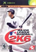 Major League Baseball 2K6 Xbox Front Cover