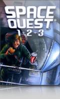Space Quest 1+2+3 Windows Front Cover