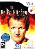 Hell's Kitchen: The Game Wii Front Cover