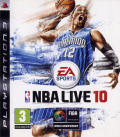 NBA Live 10 PlayStation 3 Front Cover