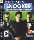 World Snooker Championship 2007 PlayStation 3 Front Cover