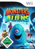 Monsters vs. Aliens Wii Front Cover