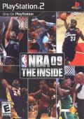 NBA 09: The Inside PlayStation 2 Front Cover