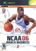 NCAA March Madness 06 Xbox Front Cover
