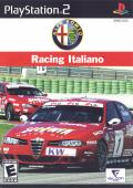 Alfa Romeo Racing Italiano PlayStation 2 Front Cover