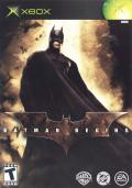 Batman Begins Xbox Front Cover