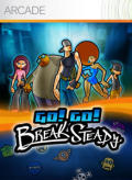 Go! Go! Break Steady Xbox 360 Front Cover