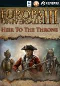 Europa Universalis III:  Heir to the Throne Macintosh Front Cover