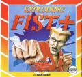 Exploding Fist + Commodore 64 Front Cover