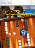 Hardwood Backgammon Xbox 360 Front Cover