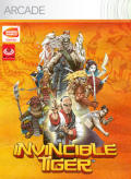 Invincible Tiger Xbox 360 Front Cover