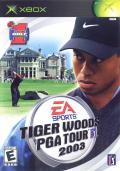 Tiger Woods PGA Tour 2003 Xbox Front Cover