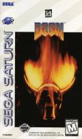 DOOM SEGA Saturn Front Cover