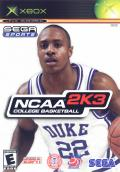 NCAA College Basketball 2K3 Xbox Front Cover