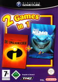 Disney/Pixar Finding Nemo / Disney presents a Pixar film, The Incredibles: Double Pack GameCube Front Cover