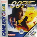 007: The World is Not Enough Game Boy Color Front Cover