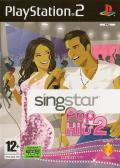 SingStar Pop Hits 2 PlayStation 2 Front Cover