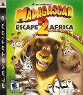 Madagascar: Escape 2 Africa PlayStation 3 Front Cover